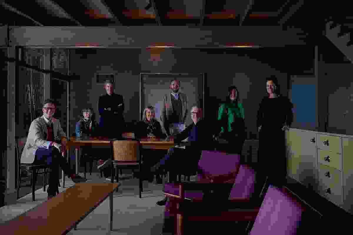 The inaugural Boyd Circle from L-R: Matt Gibson, Rachel Nolan, Rob McBride, Astrid Jenkins, Patrick Kennedy, John Wardle, Debbie Ryan and Mel Bright. Absent: Mauro Barraco, Hamish Lyon and Louise Wright.