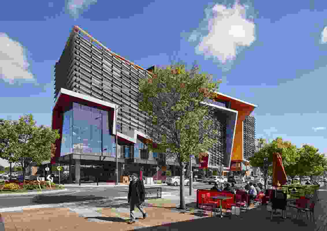 Brimbank Community and Civic Centre by Lyons.