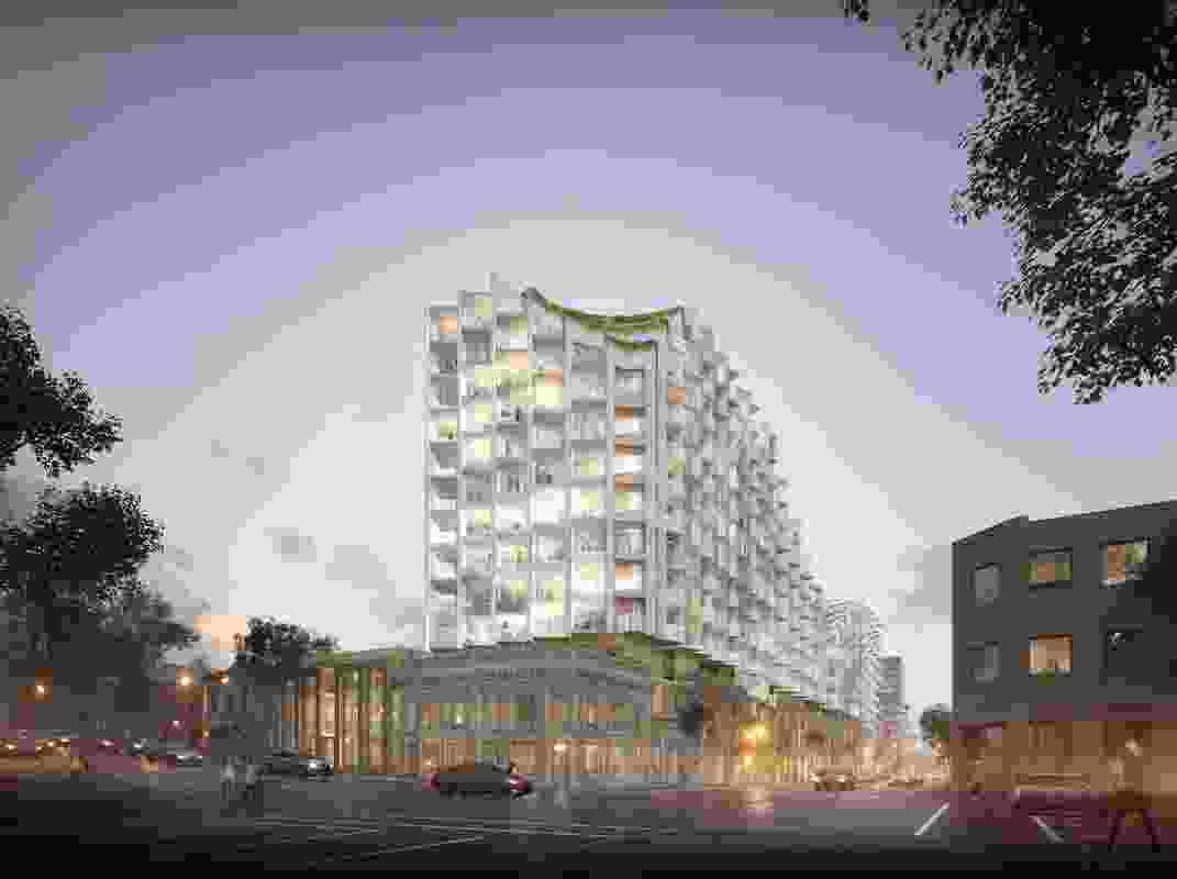 "The original  ""Las Vegas"" design by Koichi Takada Architects."