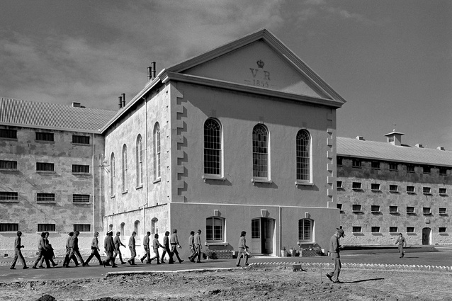 Fremantle Prison was constructed by convicts between 1851 and 1859. (Photograph 1971).