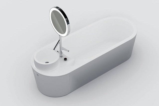 Shiro bath and basin by Gavin Harris. & 2012 Bathroom Innovation Awards | ArchitectureAU