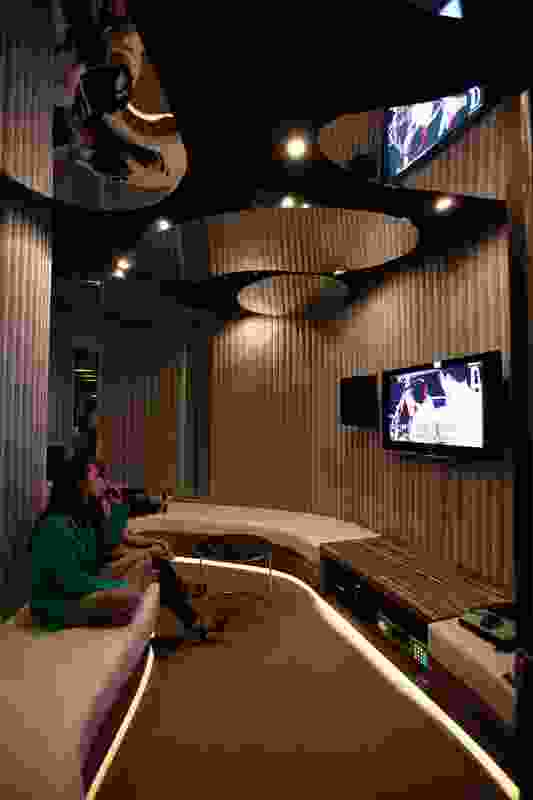 Staff are given many options to encourage relaxation outside of working hours, including karaoke.