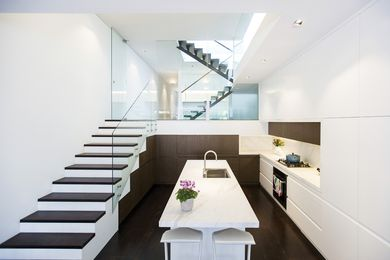 88 Angel St by Steele Associates Architects.
