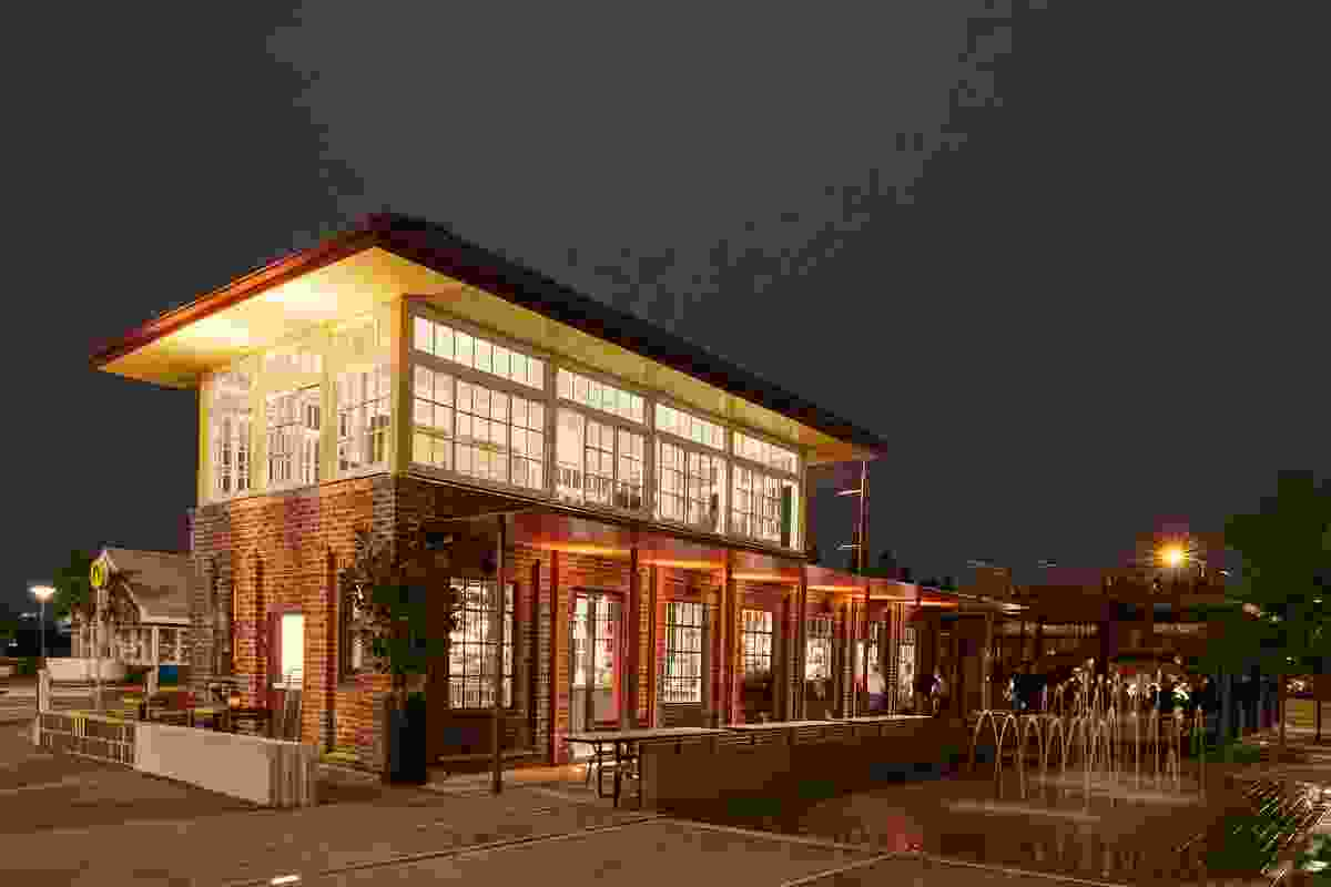 The Signal Box Restaurant by Derive Design.