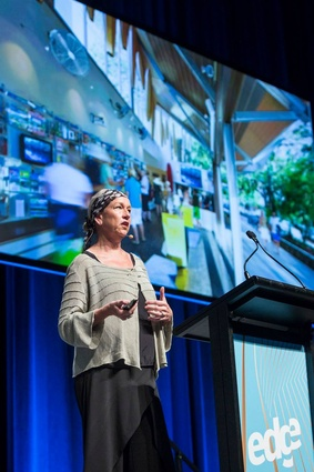 Lindy Atkin at the 2018 National Architecture Conference.