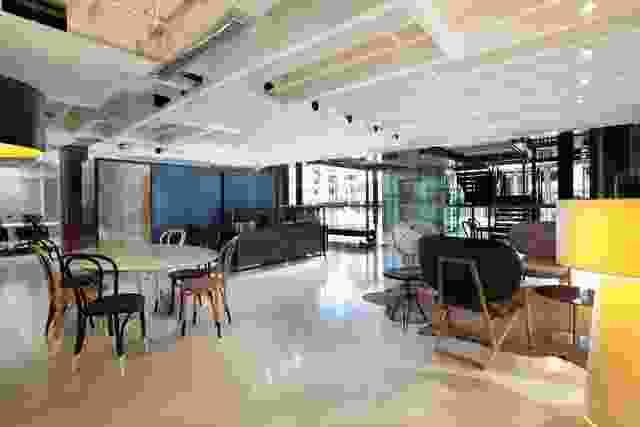 接收区域表示舒适和创造性的空间。
