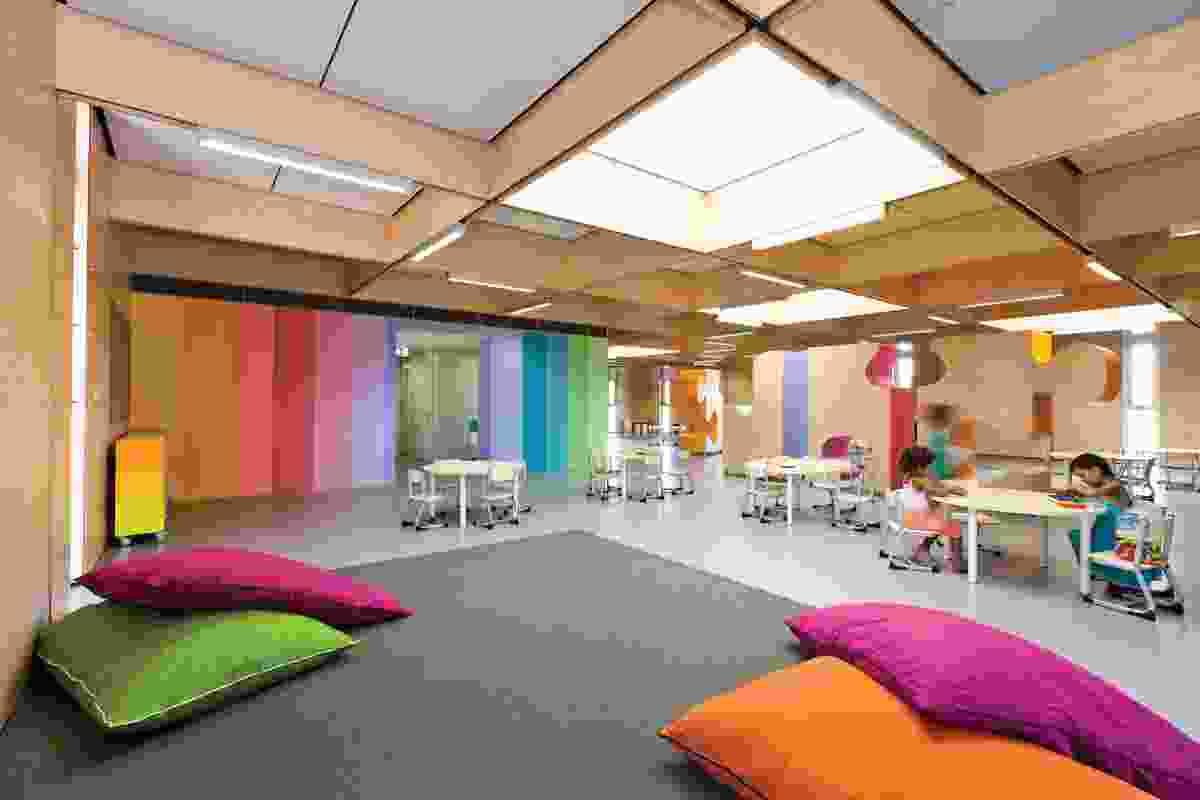 JSRACS Kindergarten (Beechboro Campus) by Brooking Design Architects Australia.
