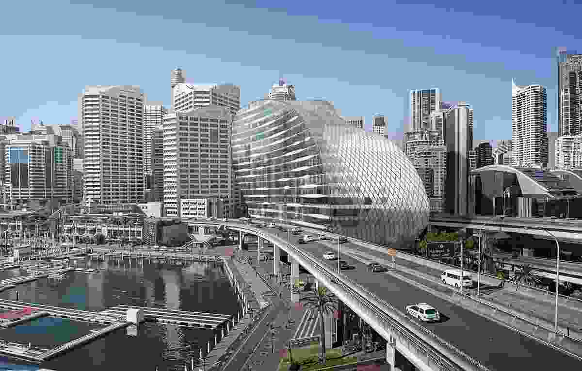"Hassell's proposal for the Ribbon at Sydney's Darling Harbour was recommended for approval by the NSW Department of Planning and Environment in June 2016, despite drawing ""serious concerns"" about the building's bulk and impact on public space."