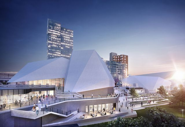 The Adelaide Festival Centre redevelopment by Hassell.