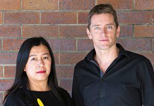 Wei Shun Lee and Kieron Gait, co-directors of Kieron Gait Architects.