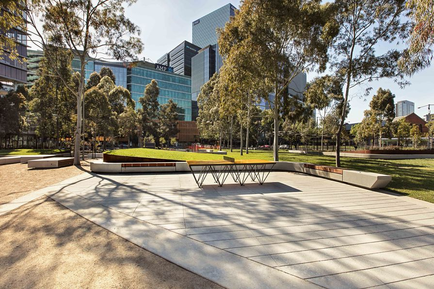 CLEC at Docklands City Park by MALA Studio.