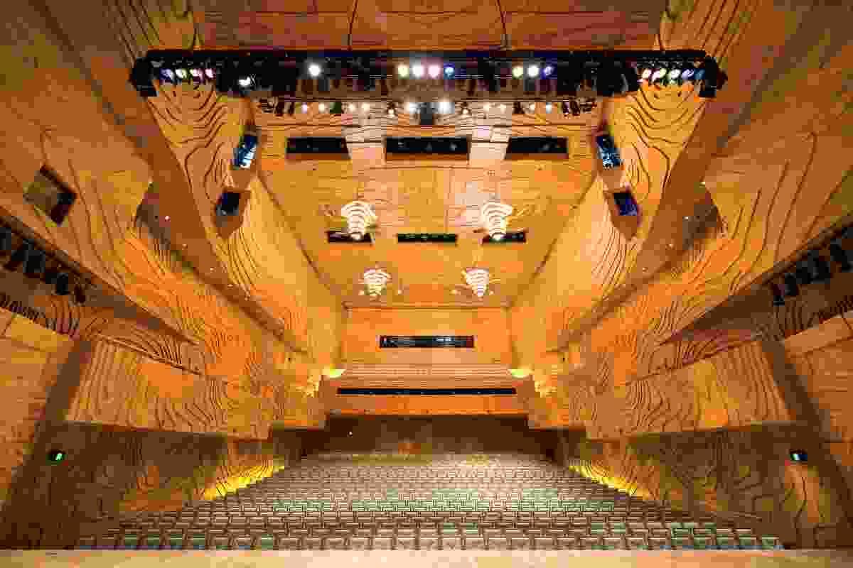 Elisabeth Murdoch Hall, Melbourne Recital Centre, Melbourne (2008).