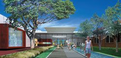 Group GSA's winning design for the $6.5 million Dubbo Regional Gallery Museum and Cultural Centre.