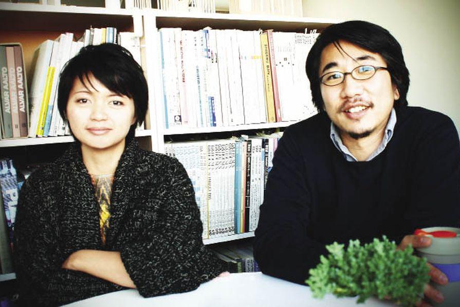 Olivia Shih (left) and Yoshihito Kashiwagi (right).