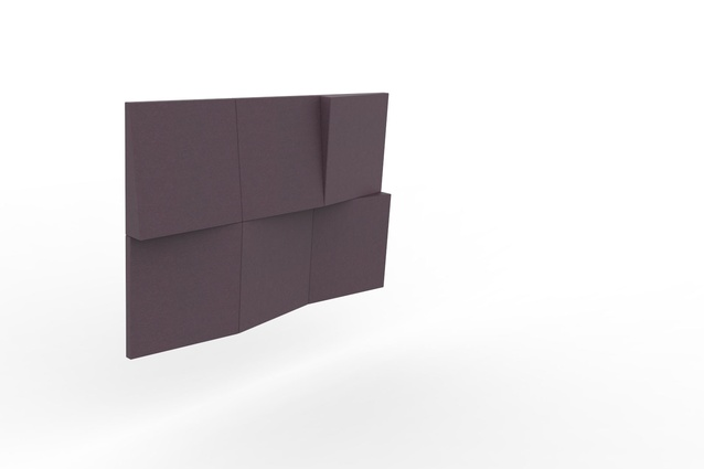 Delightful BuzziBlox Wedge U2013 An Acoustic Panel Made From Thick Foam And A Fabric Cover  That Is