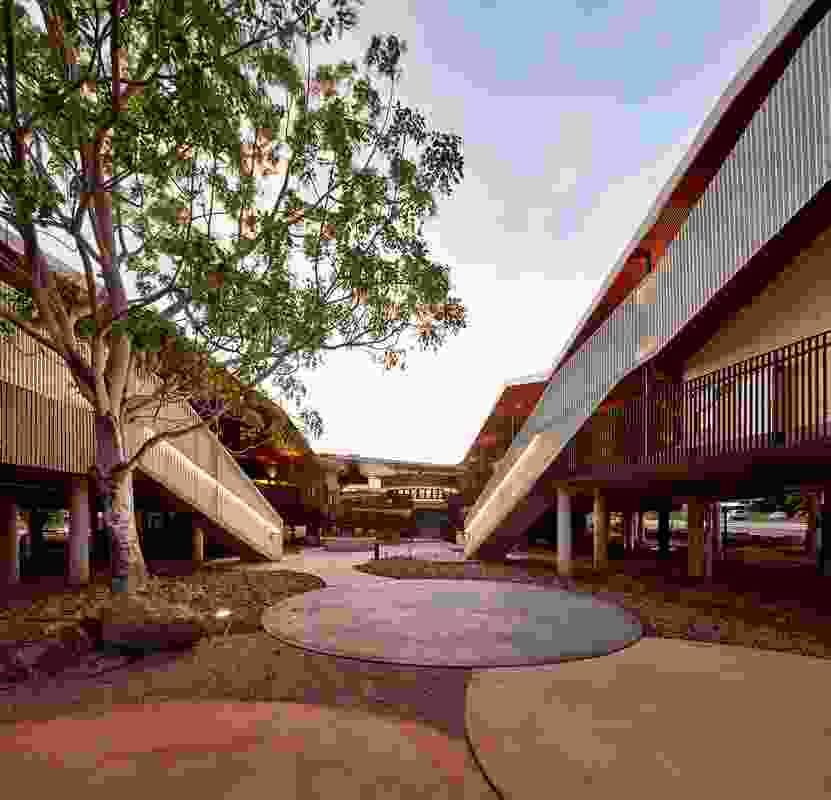 Walumba Elders Centre by Iredale Pedersen Hook Architects.