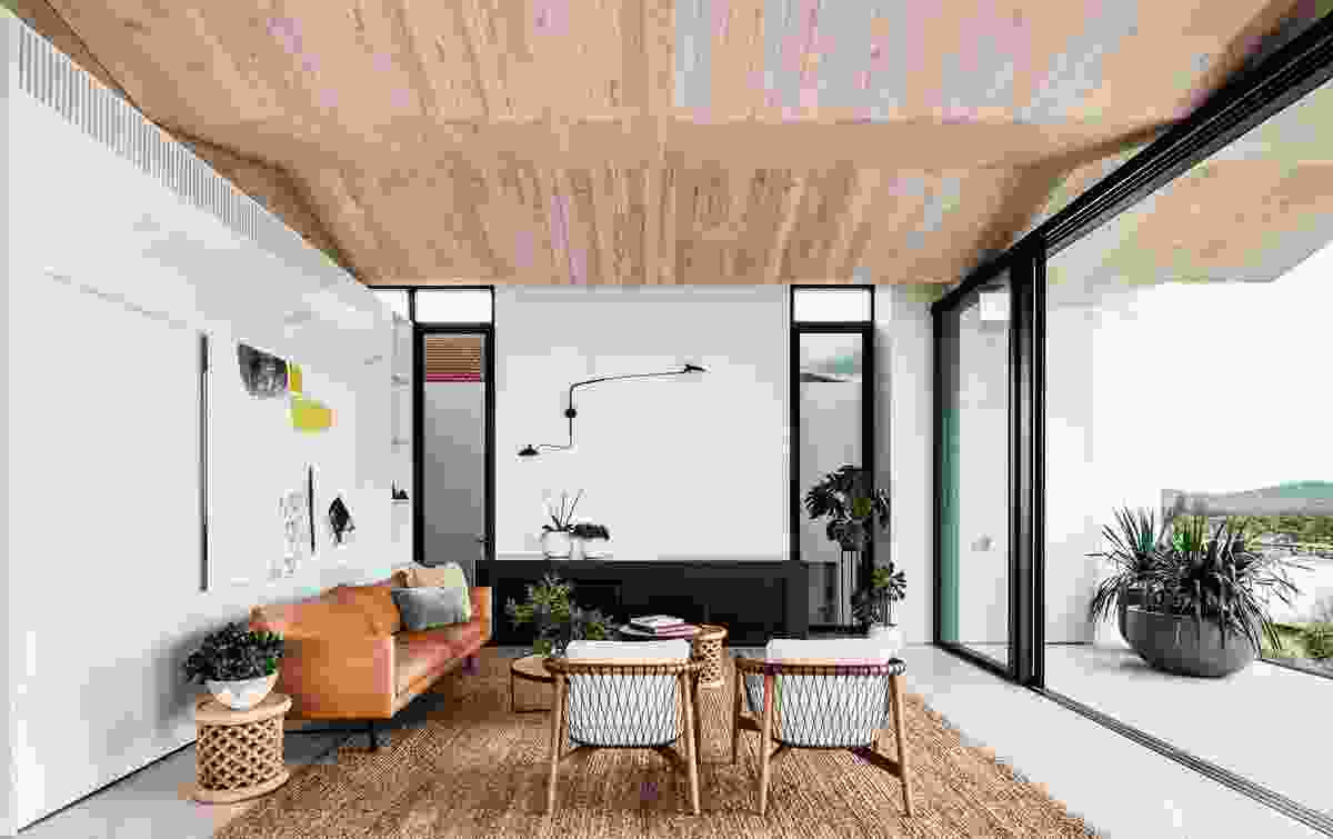 Crescent Head House by Madeleine Blanchfield Architects.