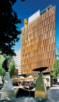 CH2 Melbourne City Council House 2 by DesignInc in collaboration with City of Melbourne.
