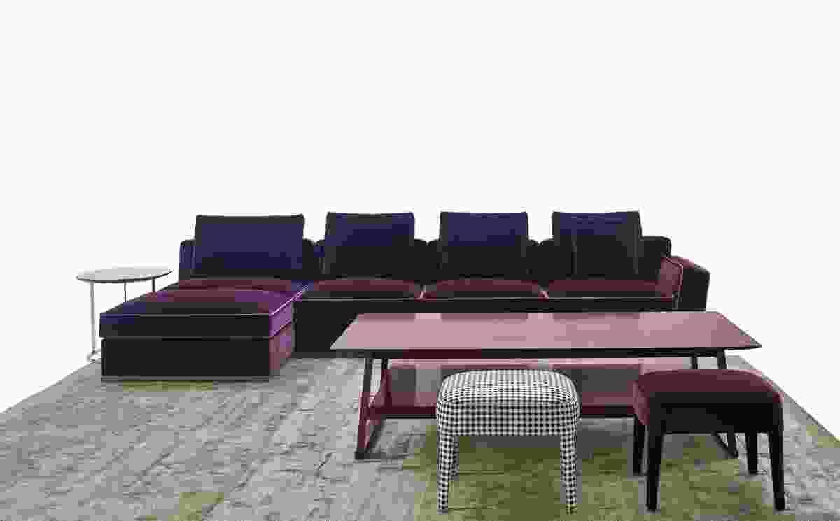 Solatium seating system from B&B Italia.