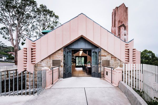 The willoughby incinerator, designed by Walter Burley Griffin and Eric Nicholls, has had many lives but now lives on as a cafe and art space.