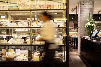 The new Jones the Grocer includes its signature cheese selection.