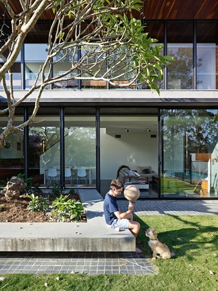 """Indooroopilly Residence was """"built to survive the ravages of young boys growing into men."""""""