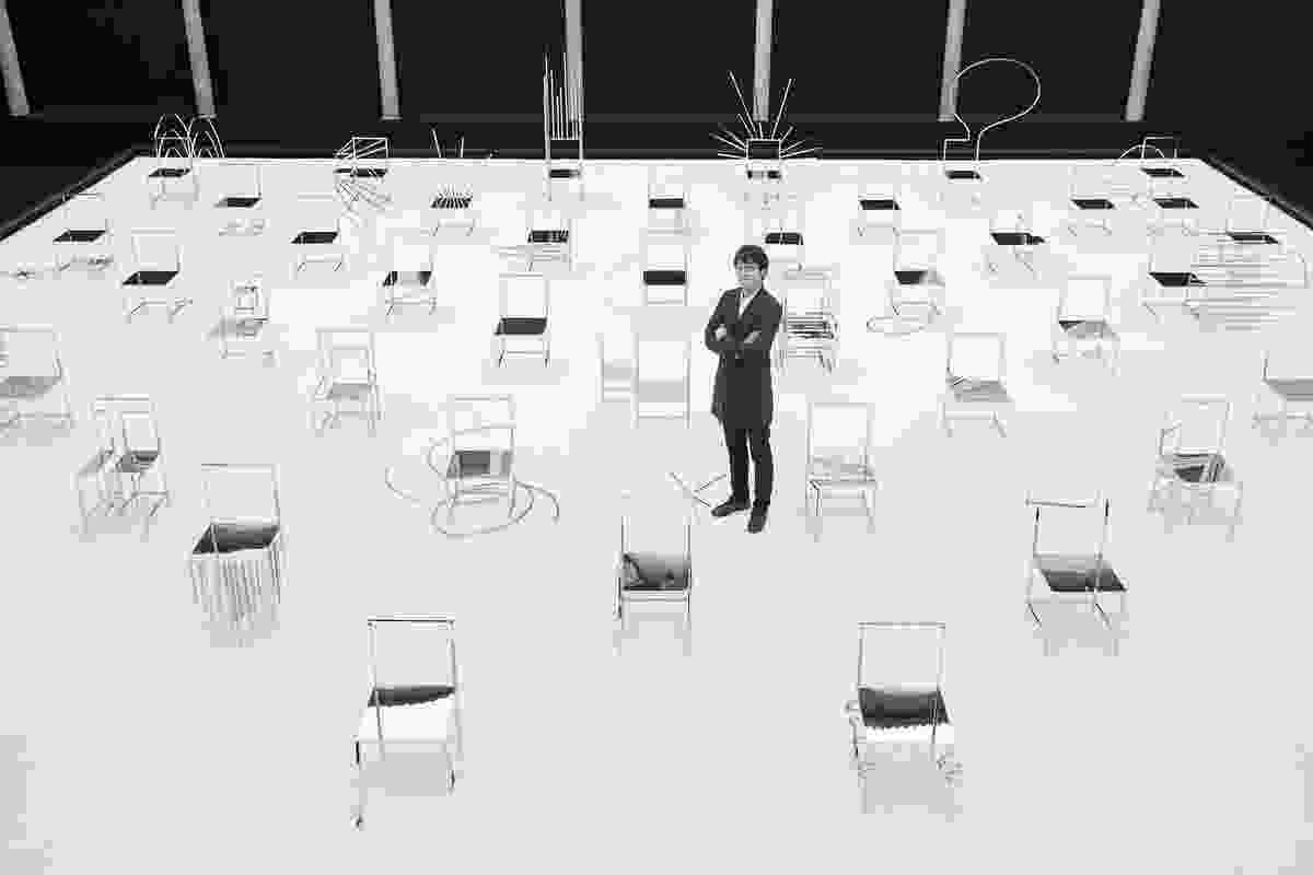 Manga chairs by Nendo, 2015.