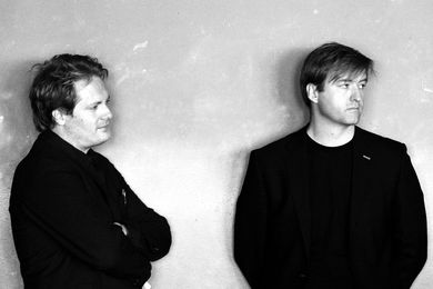 Johannes Molander Pedersen (left) and Morten Rask Gregersen (right), NORD Architects.