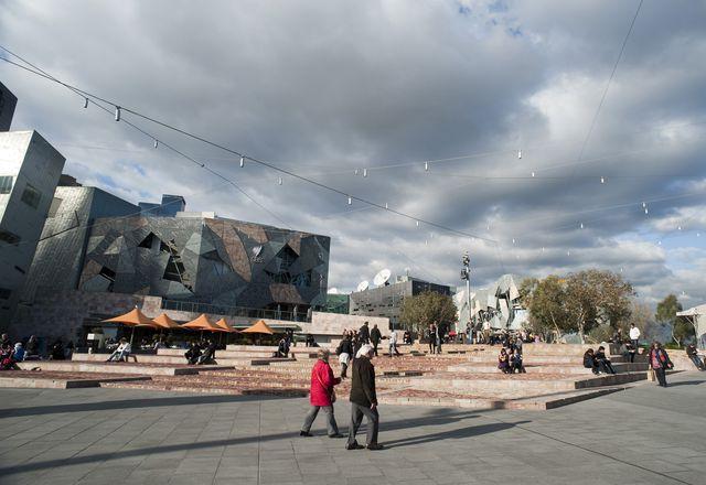 Federation Square.