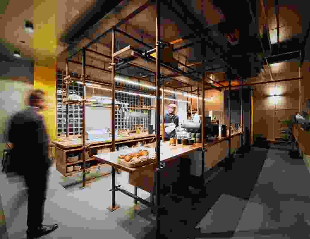 Cafe Godot by Aktis.