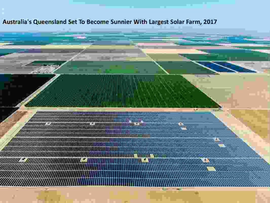 """According to OMA, there are opportunities for generating energy demand in Australia's """"flat"""" landscapes."""