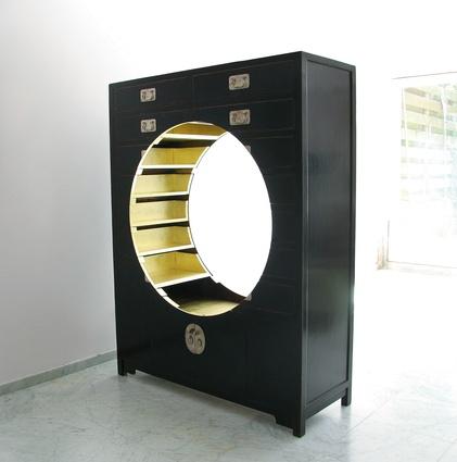 the Vitrine display shelf (2012).