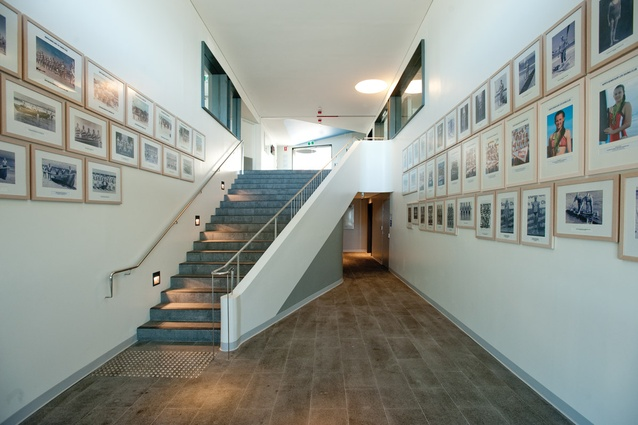 The Hall of Champions: photographs of North Bondi SLSC members past and present.