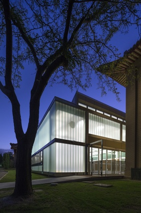 PRC Embassy Pool Enclosure by Townsend + Associates Architects.