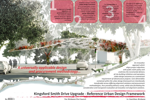 Kingsford Smith Drive Upgrade - Reference Urban Design Framework by Fred St.