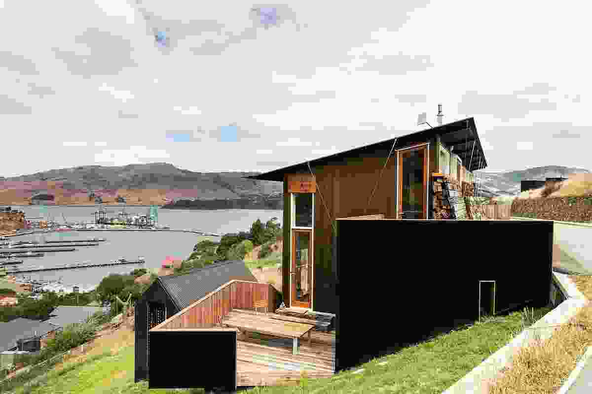 Small Project Architecture winner: Lyttleton Studio Retreat by Bull O'Sullivan Architecture. This project also won the Ian Athfield Signature Award.