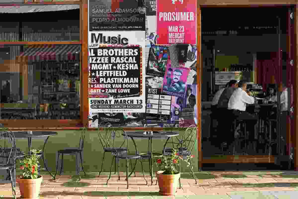 Spanish Bar and Restaurant Bohemian, by Design Studio Wonder, has a European feel.
