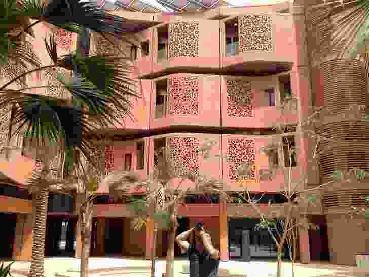 Foster + Partners's student Housing at Masdar City, Abu Dhabi.