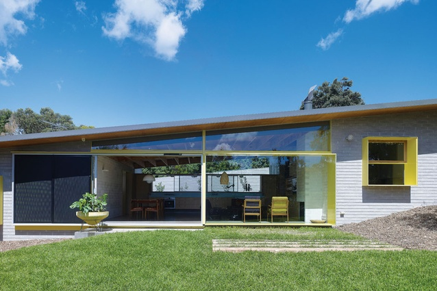 Zac's House, Mornington Peninsula, Vic: Positioned against the rear and side boundaries, the house consolidates a useful garden.