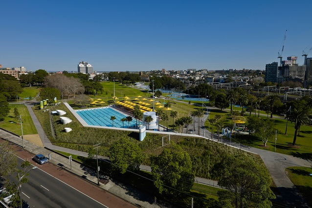 Prince Alfred Park + Pool Upgrade (NSW) by Neeson Murcutt Architects in association with City of Sydney.