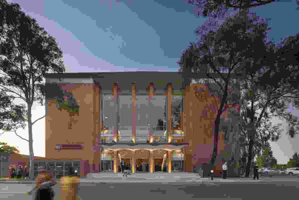 Town Hall Broadmeadows by Kerstin Thompson Architects.
