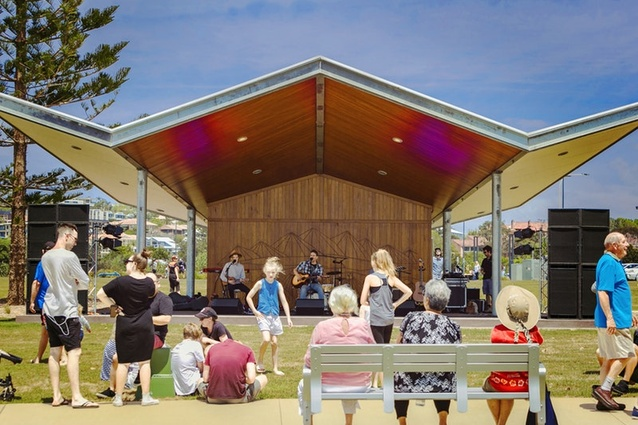 Jetty4Shores Stage, Coffs Harbour Jetty by Fisher Design and Architecture with Mackenzie Pronk Architects.
