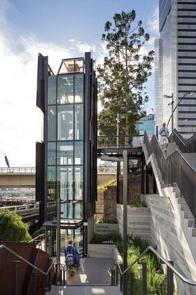 The location of the North Quay ferry wharf was relocated to improve accessibility, enabling a more direct connection to Victoria Bridge and Queen Street buses.