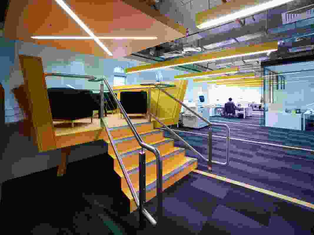 McCann World Group + CMG Advertising Headquarters, Sydney – futurespace