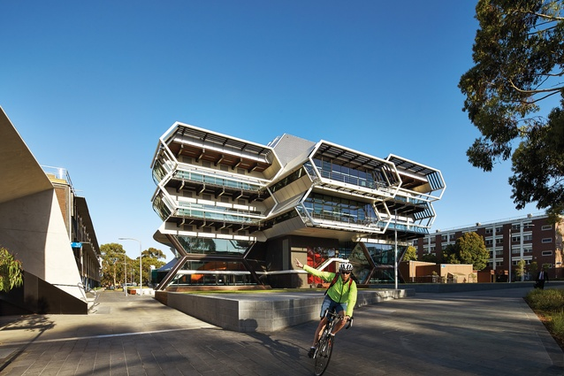 The Green Chemical Futures building by Lyons Architecture.