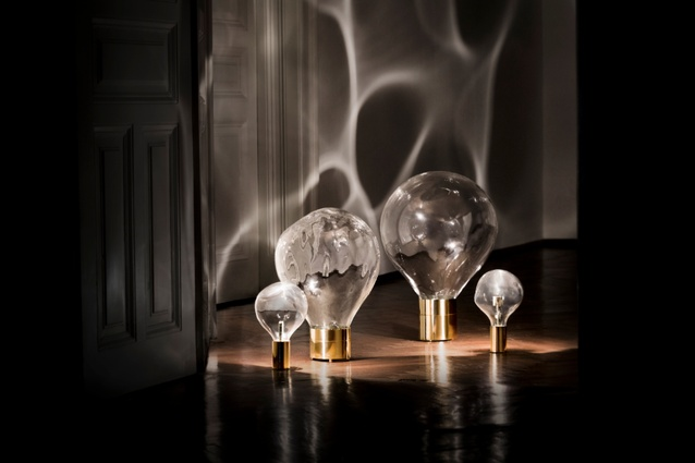 Ripple light by Poetic Lab.