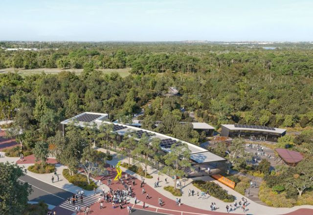 Indicative scheme for the Harry Butler Environmental Education Centre at Murdoch University.