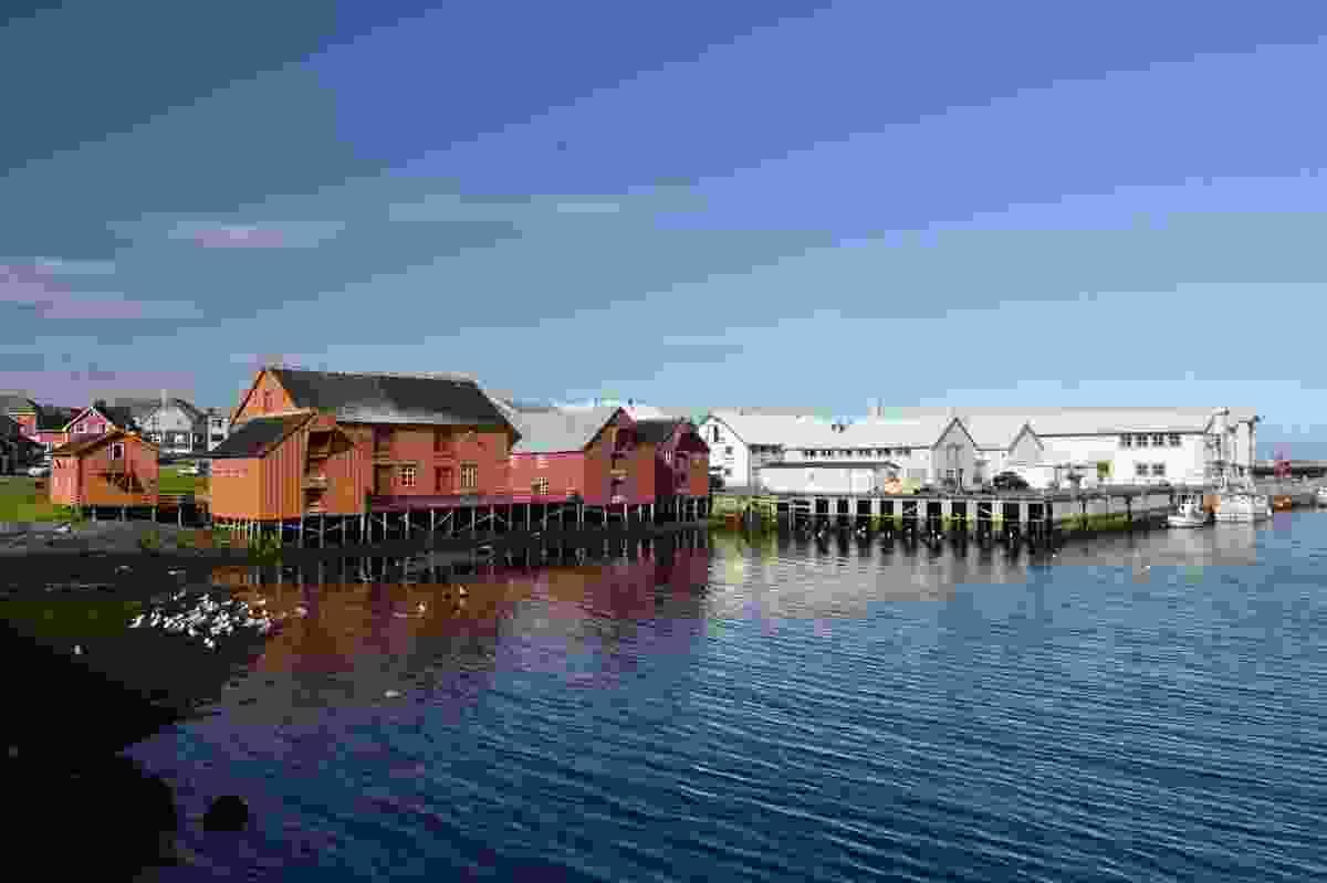 Vardø harbour.