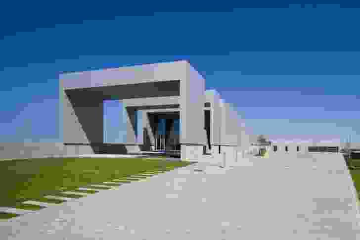 The Vola Academy in Horsens, Denmark, by Link Arkitektur.