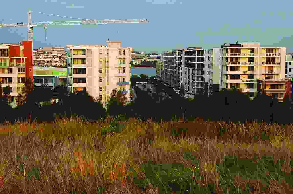 Development at Sydney Olympic Park.